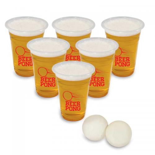 how to set up beer pong