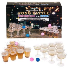 Pong Battle Prosecco vs Beer