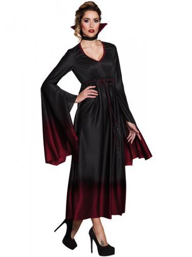 Mörk Ombre Vampyrklänning - Partyhallen.se d279d90d486b7