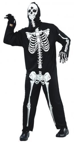 Skelett Maskeraddräkt Budget - Partyhallen.se 58ed8709e33ae