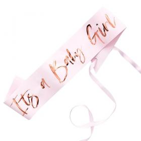 It's A Baby Girl Sash
