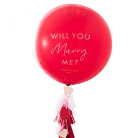 Will You Marry Me Latexballong