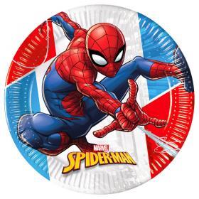Spiderman Papperstallrikar Komposterbara