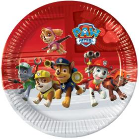 Paw Patrol Ready For Action Papperstallrikar