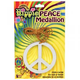 Peace Halsband Silver