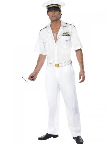 Top Gun Kapten kostym Maskeraddräkt 04921901ed0dc