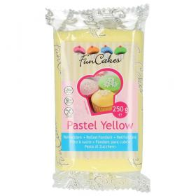 Sockerpasta Pastel Yellow 250 g