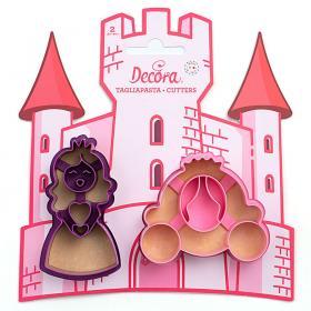 Kakformar Prinsessa och Vagn