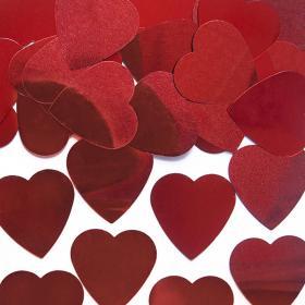 Konfetti Hjärtan Stora