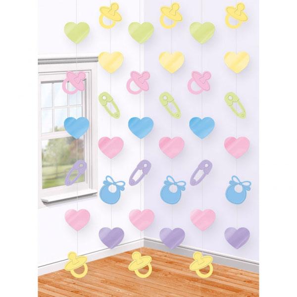 Baby Shower Hängande Dekorationer