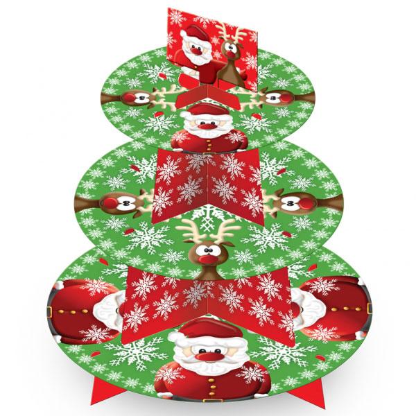 Christmas Muffinsställ