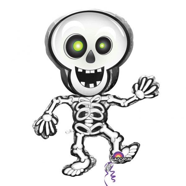 Dansande Skelett Folieballong XL
