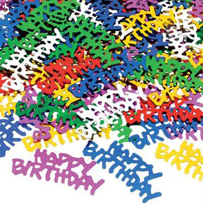 Happy Birthday Konfetti