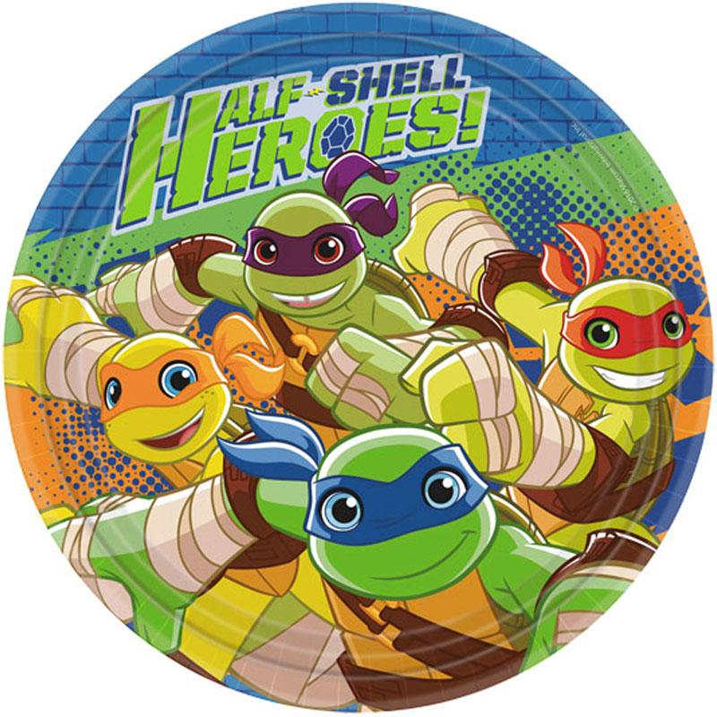 Ninja Turtles Heroes Assietter
