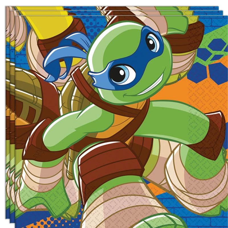 Ninja Turtles Heroes Servetter