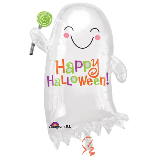 Spöke Med Godis Folieballong