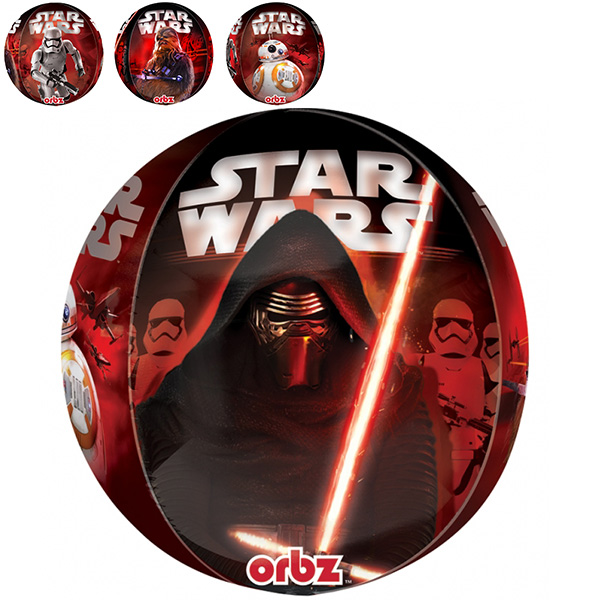 Star Wars The Force Awakens Folieballong Rund
