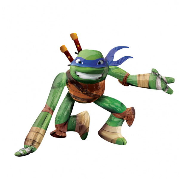 Ninja - Teenage Mutant Ninja Turtles Folieballong Airwalker