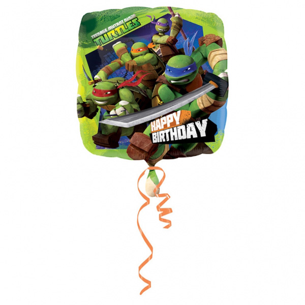Ninja - Teenage Mutant Ninja Turtles Happy Birthday Folieballong