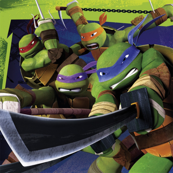 Teenage Mutant Ninja Turtles Servetter