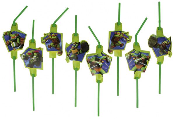 Teenage Mutant Ninja Turtles Sugrör