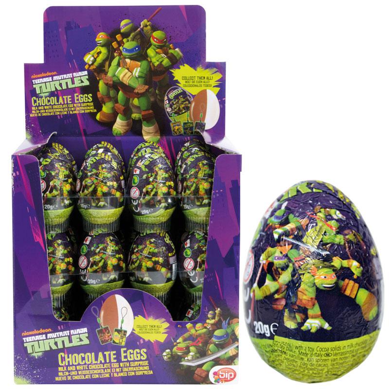 Ninja Turtles Chokladägg med Överraskning