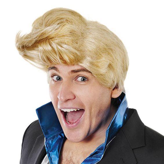 80-tals Disco Blond Peruk