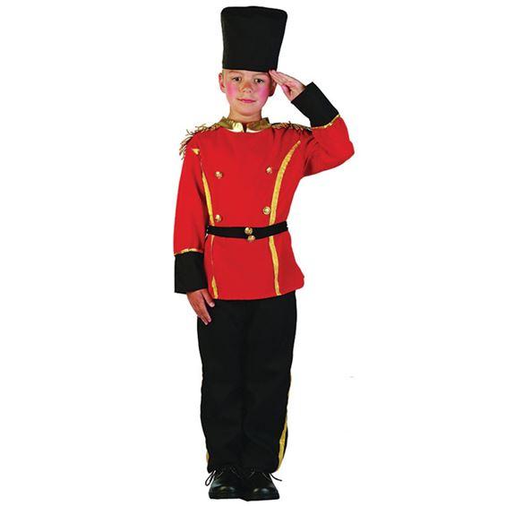 Brittisk Högvakt Barn Maskeraddräkt (Small)