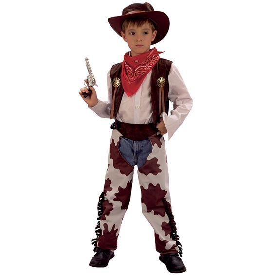 Cowboy Barn Maskeraddräkt (Small)