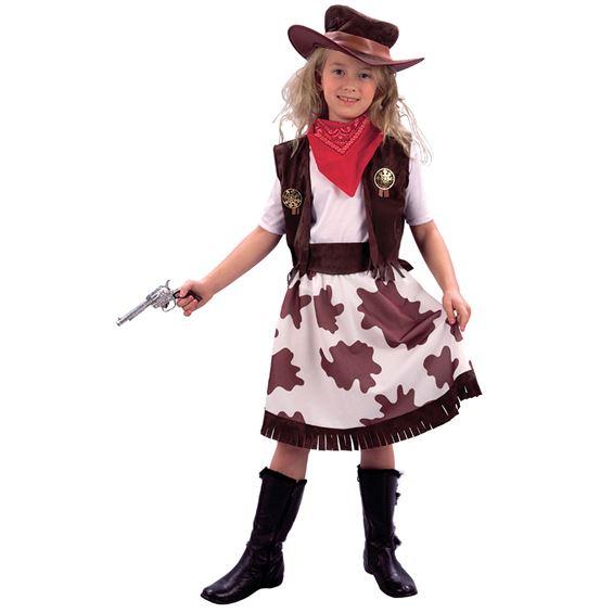 Cowgirl Barn Maskeraddräkt (Small)