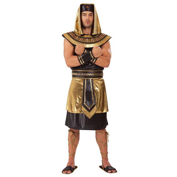 Egyptisk Kung Maskeraddräkt