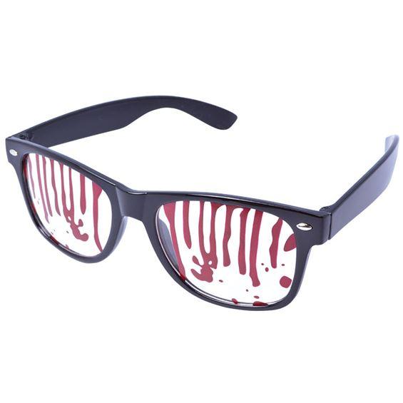 Glasögon Blodig