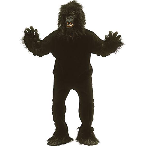 Gorilla - Gorilla Maskeraddräkt Budget