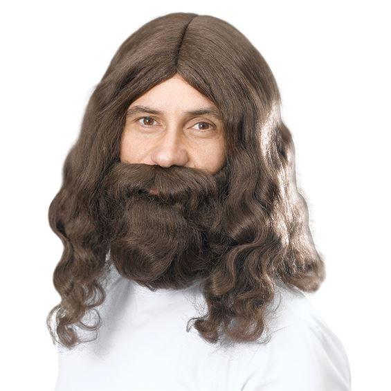 Jesus Peruk Set