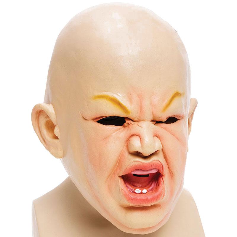 Läskig Bebis Mask