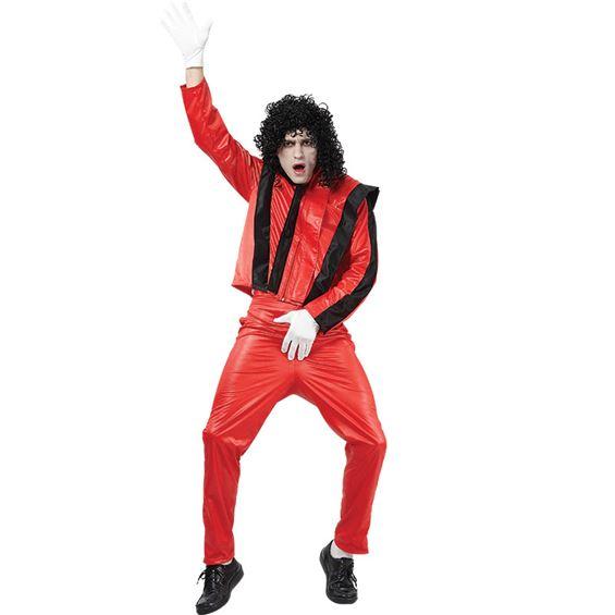 Michael Jackson Thriller Maskeraddräkt