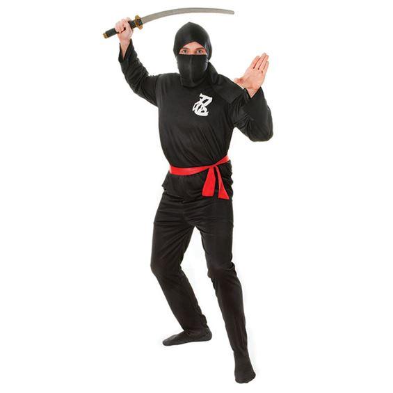 Ninja Maskeraddräkt Budget