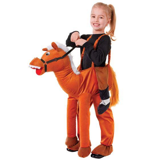 Ridande Häst Barn Maskeraddräkt