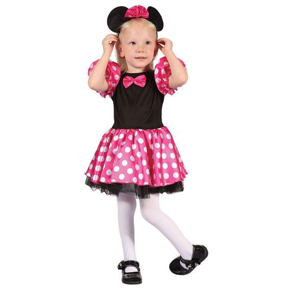 Rosa Mimmi Pigg Barn Maskeraddräkt