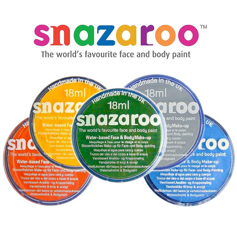 Snazaroo Ansiktsfärg (Silver)