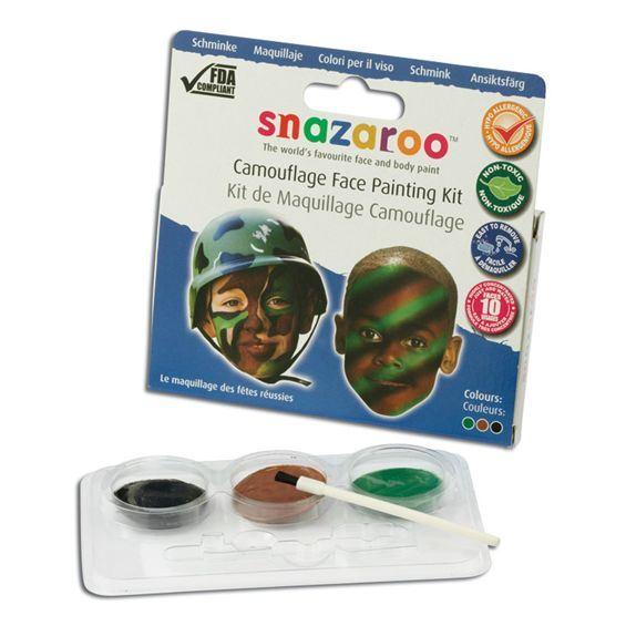 Snazaroo Kamouflage Sminkset