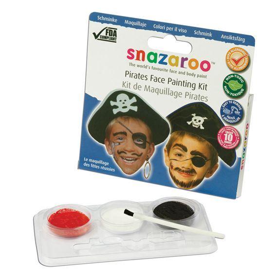 Snazaroo Pirat Ansiktsmålning Kit