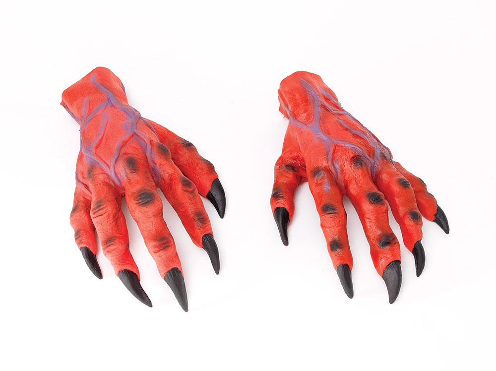 Varulvshänder Röda