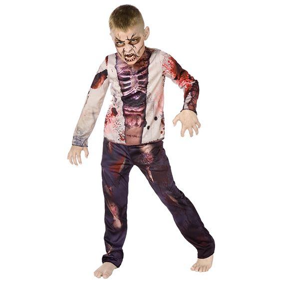 Zombiedräkt Barn