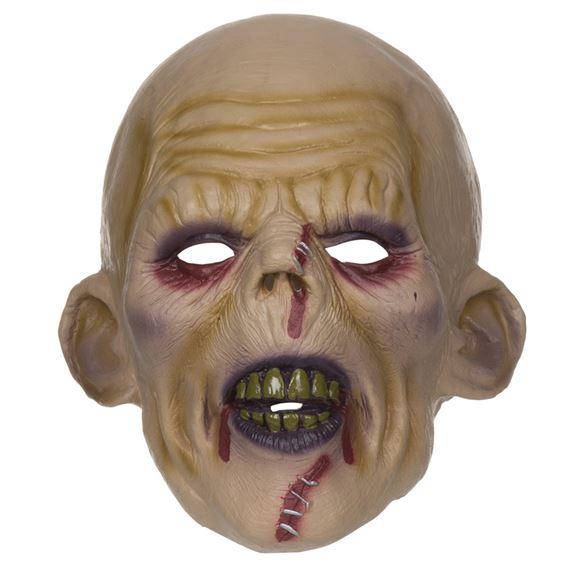 Zombiemask med Stygn