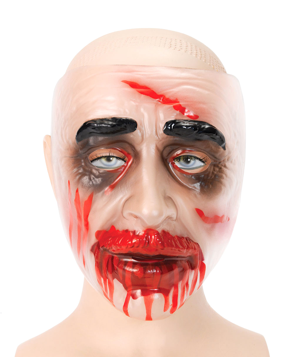 Zombiemask Transparent Man