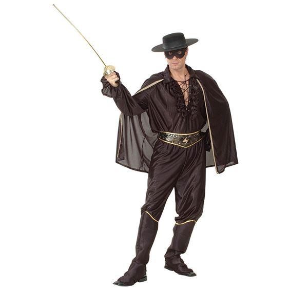 Zorro Maskeraddräkt Budget