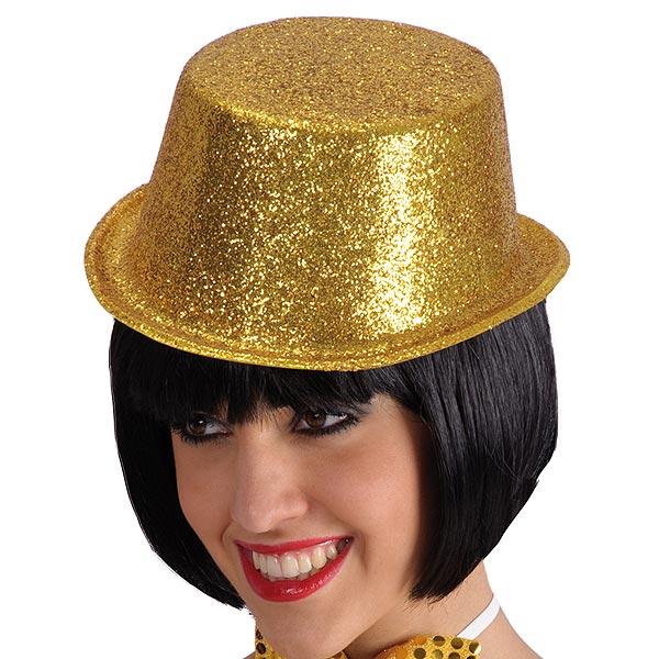 Glitter Guldhatt