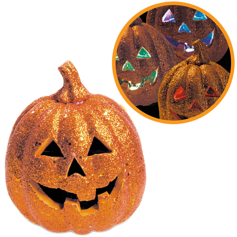 Halloween Pumpa med LED