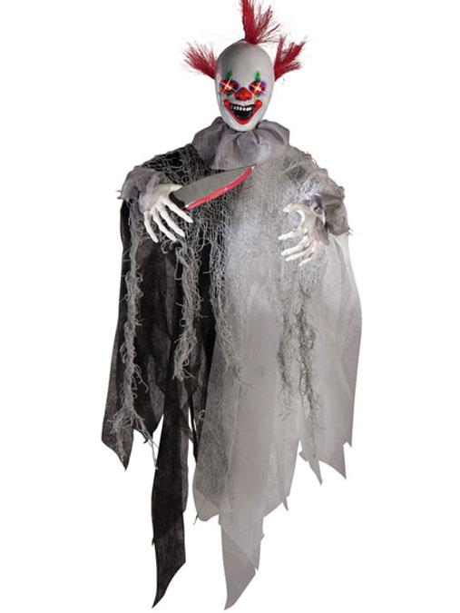 Ljudaktiverad Clown Dekoration